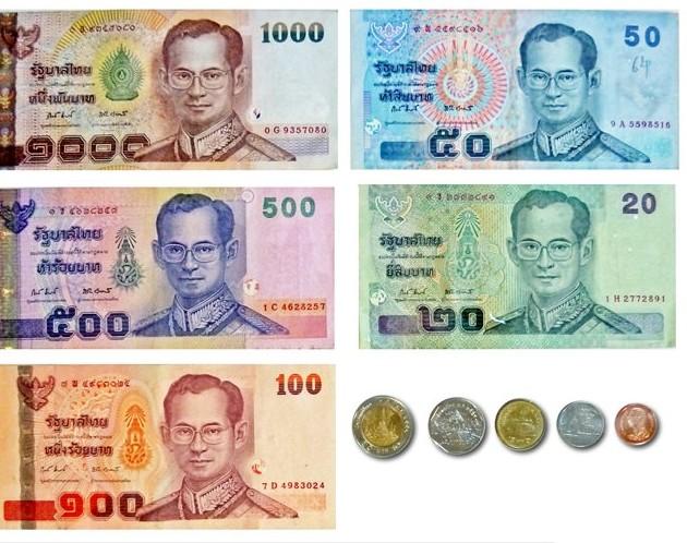 Novac i kartice u Tajlandu