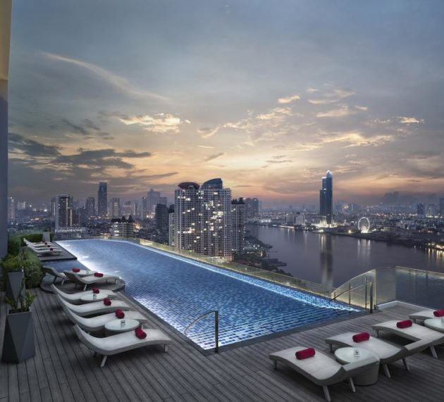 Najbolji infinity pool hoteli u Bangkoku