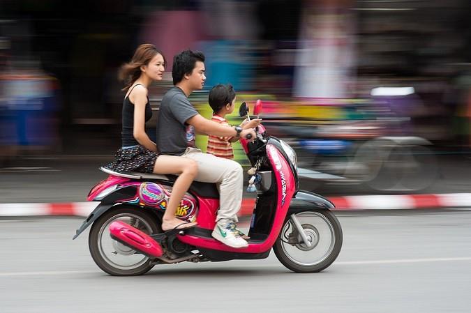 Iznajmljivanje skutera u Tajlandu