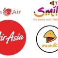 Air asia low cost nok air thai lion air thai smile