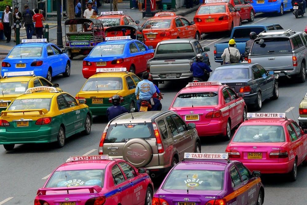 Taxi u Bangkoku