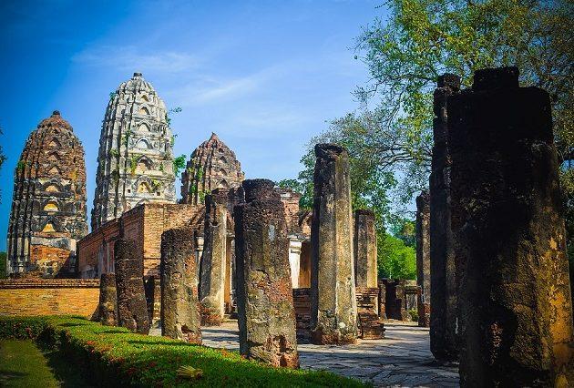 Sukhothai znamenitosti