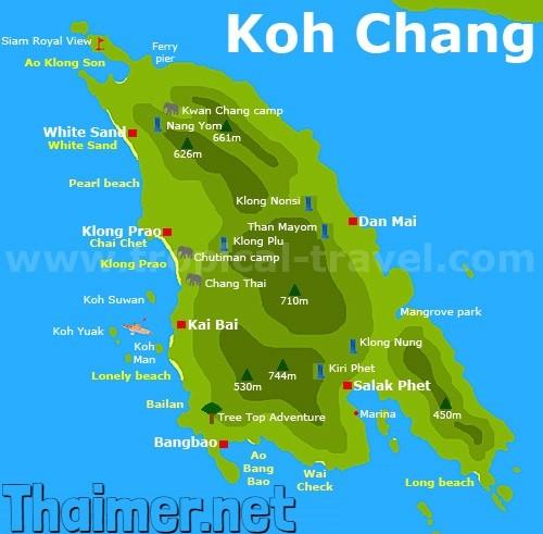 Khh Chang mapa