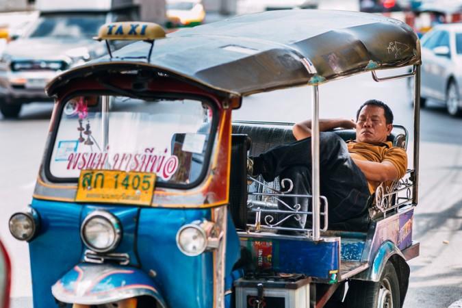 Bangkok tajland iskustvo tuk tuk putovanje