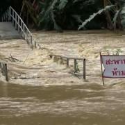 Jake kiše opet poplavile jug Tajlanda