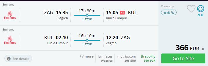 Emirates od 01lipnjA POČINJE LETJETI IZ ZAGREBA