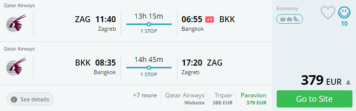 emirates zagreb bangkok jeftina karta tajland putovanje thaimer