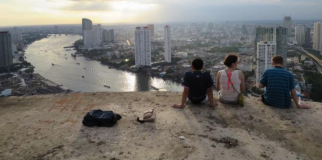 Tajland putopis: Ghost tower i Asiatique night market
