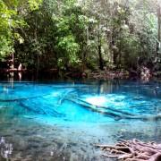 Zatvoren Emerald pool kraj Krabia na 6. mjeseci
