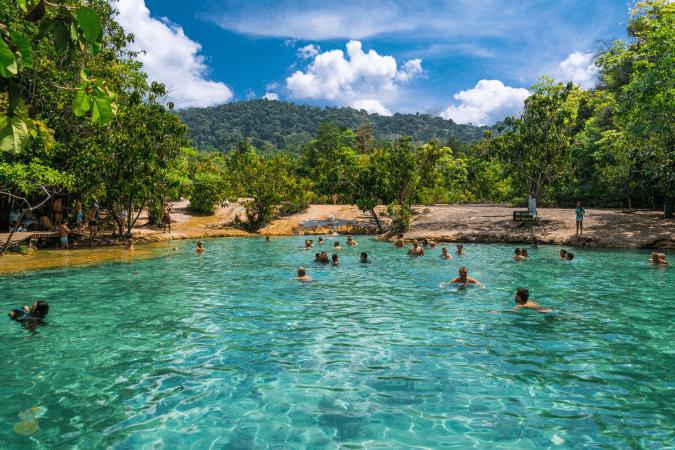 emerald pool krabi thaimer tajland putovanje 23