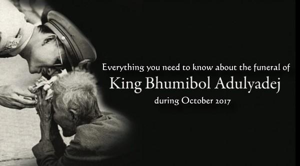 Sve što trebate znate o sahrani tajlandskog kralja Bhumibola – listopad 2017