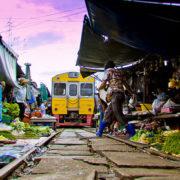 How to get from Bangkok to Maeklong Railway Market