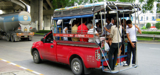 Vodič za korištenje Chiang Mai Songthaew-a