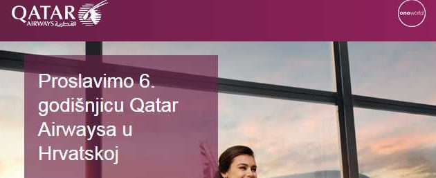 Qatar Airways slavi 6. godišnjicu u Hrvatskoj – Bangkok od 444 eura