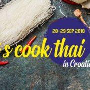 Let's Cook Thai in Croatia: naučite kuhati tajlandska jela i osvojite put u Tajland