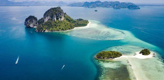 Krabi fakultativni izleti – 4 islands tour