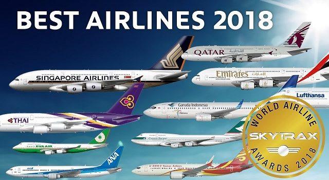 Skytrax dodijelio nagrade za najbolje svjetske aviokompanije 2018. godine