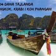 Tajland putovanje 14 dana  Bangkok, Krabi i Koh Phangan