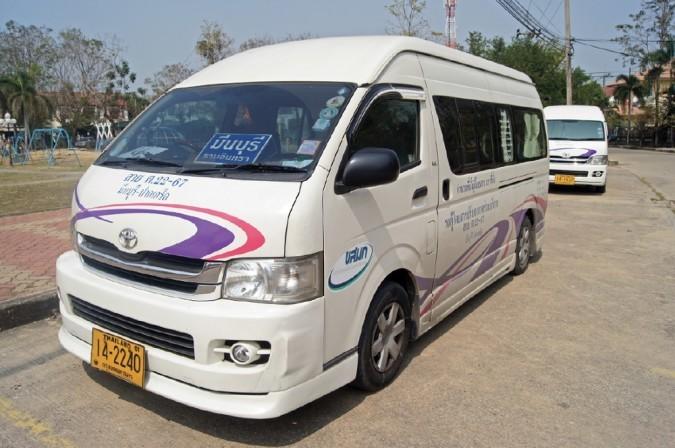kako doći do ayutthaye minivan
