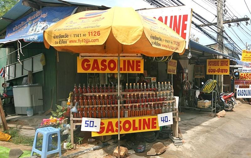 benzin na ulici phangan informacije