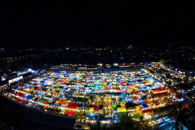 putopis tajland thaimer ratchada market
